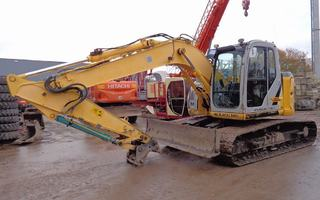 new holland kobelco e135bsr